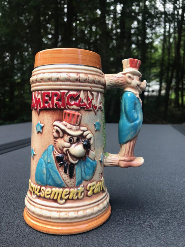 Americana Amusement Park Stein