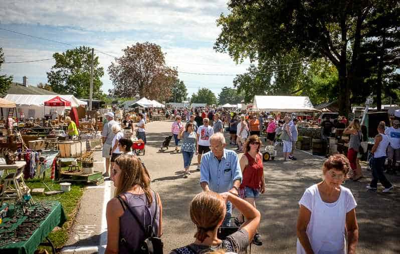 Springfield antique show and flea market