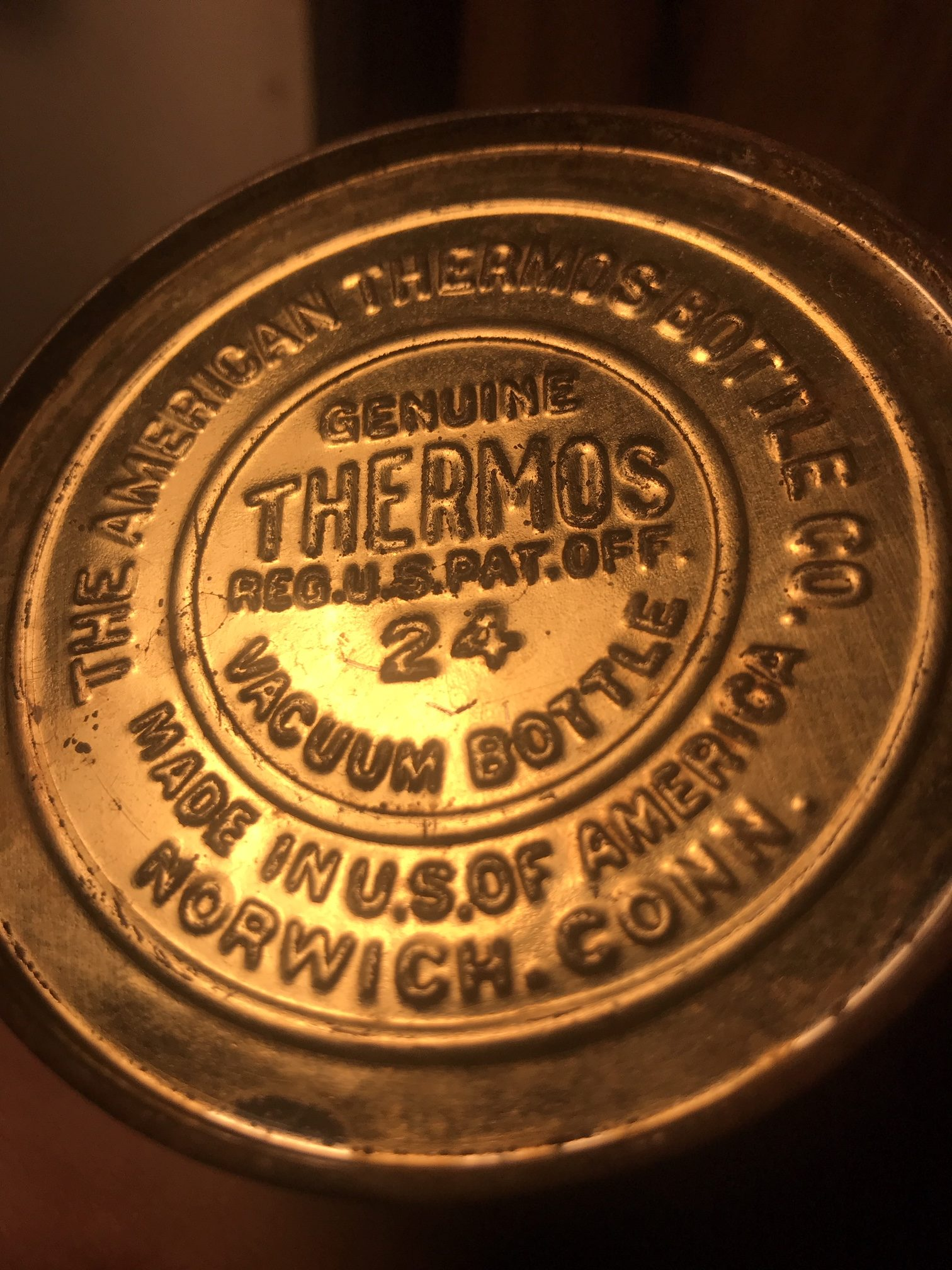 Thermos Bottle Bottom