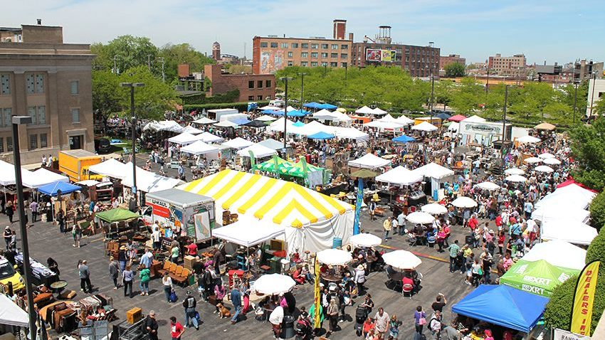Biggest Flea Market in the united states Randolph St Market